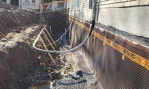 Inspection de drain français